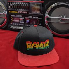 841f5fe7 Hella Thrifty · 90s Fashion · Excited to share the latest addition to my  #etsy shop: Flavor Snapback #flavormagazine