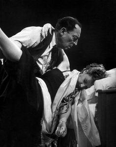 Buster and Eleanor  Keaton  Circus Medrano PARIS  (1952)