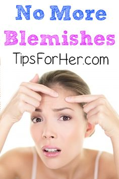 No More Blemishes - Simple do it yourself to get rid of acne scars & remove blemishes using just a few simple items.