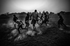FOOTBALL IN GUINEA-BISSAU de Daniel Rodrigues, ganador del World Press Photo en la categoría 'Daily Life'