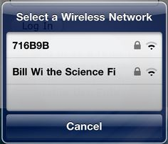 I probably shouldn't of laughed this much over a Wifi name