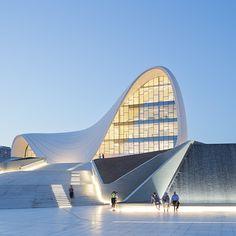 Centre culturel Heydar Aliyev Baku Azerbaidjan