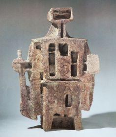 拾得 (陶彫) 1958 | Shindo Tsuji (1910-1981)