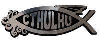 Cthulhu emblem silver 5 inch EvolveFISH http://www.amazon.com/dp/B002U1V3FS/ref=cm_sw_r_pi_dp_WfEOtb1YK56JZKVK