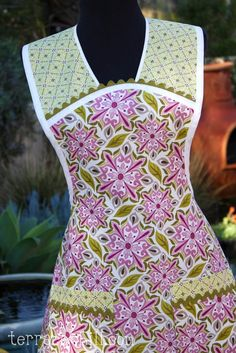 Central Park Retro Full Apron