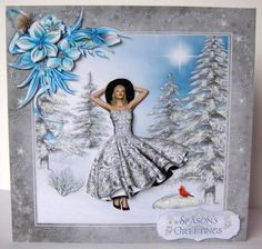 Card Gallery - Walking in a Winter Wonderland Mini Kit