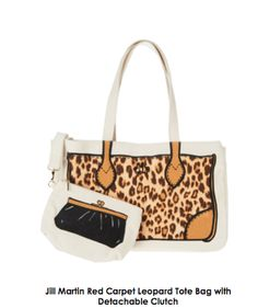 Cute bag!  Jill Martin hosts 'Get Fashionably Organized' event to celebrate her QVC line