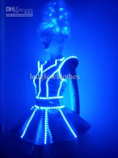 burning man 2012 led suit prior to man burn led costume costumes and burlesque - Halloween Led Costume
