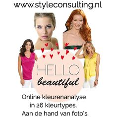 Online kleuradvies- kleurenanalyse   Style Consulting Color Me Beautiful, Movie Posters, Colour, Style, Color, Swag, Film Poster, Billboard, Film Posters