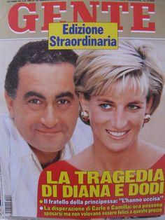 Princess Diana And Dodi, Diana Dodi, Princes Diana, Real Princess, Princess Of Wales, Dodi Al Fayed, Diana Memorial, Newspaper Cover, Thing 1