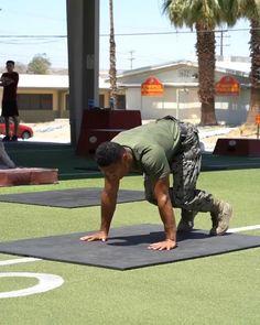 Intense Cardio Workout, Push Up Workout, Hitt Workout, Calisthenics Workout, Gymnastics Workout, Gym Workout Videos, Gym Workout For Beginners, Gym Workouts, Army Workout