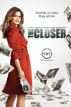 The Closer (2005–2012) - Stars: Kyra Sedgwick, J.K. Simmons, Corey Reynolds. - Deputy Police Chief Brenda Johnson runs the Priority Homicide Division of the LAPD with an unorthodox style. Her innate ability to read people and obtain confessions helps her and her team solve the city's toughest, most sensitive cases. - CRIME / DRAMA / MYSTERY