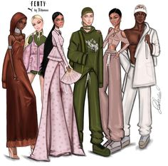 FENTY x PUMA Squad Goals by @ldochev| Be Inspirational ❥|Mz. Manerz: Being well dressed is a beautiful form of confidence, happiness & politeness