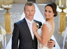 F1 | Kimi e Minttu, nozze da sogno in Toscana