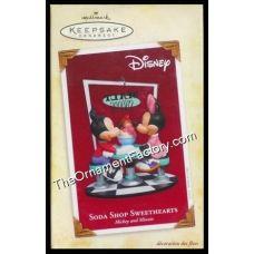 2005 Soda Shoppe Sweethearts, Disney | Hallmark Keepsake Ornaments | The Ornament Factory