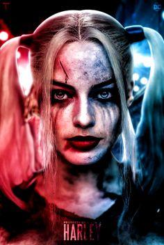 Harley Quinn Tattoo, Harley Quinn Et Le Joker, Harley Quinn Halloween, Harley Quinn Drawing, Margot Robbie Harley Quinn, Harley Quinn Cosplay, Harely Quinn And Joker, Harley And Joker Love, Harey Quinn