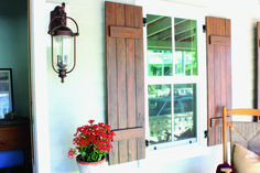 Wood Pallet Ideas - Shutters