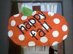 Burlap - Halloween & Fall Goodies