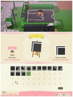 Animal Crossing New Horizons Playground Designs