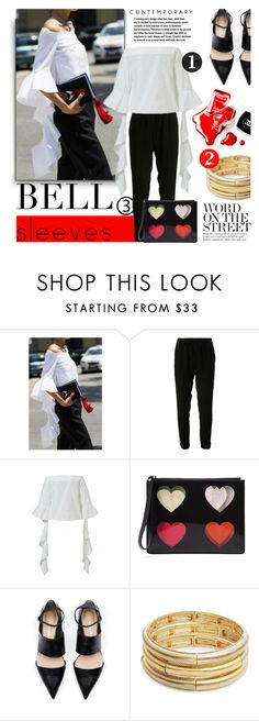 """""""Street Style Trend: Bell Sleeves"""" by milica1940 ❤ liked on Polyvore featuring Chanel, A.L.C., Christopher Kane and Nanette Lepore"""