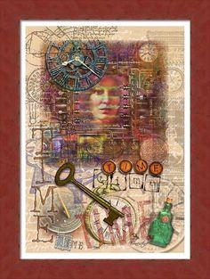 Digital collage - e. grindal
