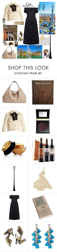 """Barcelona..."" by csfshawn ❤ liked on Polyvore featuring Whiteley, Loewe, Gucci, tarte, Yves Saint Laurent, Rembrandt Charms, Jelena Bin Drai, Eye Candy and PearlsandLace"