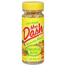 While it might sound silly, Ms. Dash has been my go to replacing the butter I use to put on veggies. Boy, does it bring out the flavor.