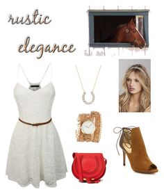 """""""Rustic elegance"""" by amyjen70 ❤ liked on Polyvore"""