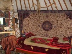 Anak Ranch of Mongolia - you will sleep in a ger, the traditional Mongolian nomad's home. You will eat home-grown and all-natural food, including roast meat, cheese, stew, vegetables, milk, yogurt, and airag.