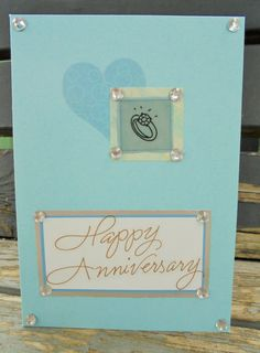 Diamond Anniversary handmade card FWB by RogueKissedCraft on Etsy 60th Anniversary, Diamond Anniversary, Love Heart, Etsy Store, Greeting Cards, Romance, Awesome, Unique Jewelry, Handmade Gifts