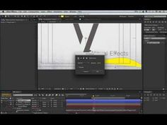 After Effects Motion Graphics Tutorial - Bottom Line - YouTube