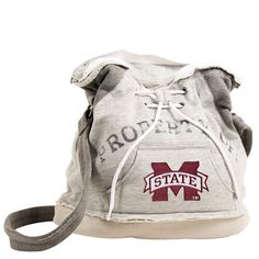 "Mississippi State Bulldogs Ncaa ""property Of"" Hoodie Duffel"