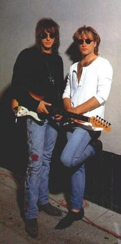 How Old Is Richie Sambora   RICHIE SAMBORA y JON BON JOVI - guitarras__rock - Fotolog