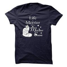 "Cat Shirts - ""Maine Con Cat"" #catshirts #mainecooncatshirts"