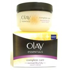 Olay Essentials Complete Care Normal/Dry/Oily Night Cream 50ml
