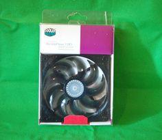 Gehäuse Lüfter Case Fan Cooler Master, 120mm, 2000rpm, 118.33m³/h, 19dB, Grün