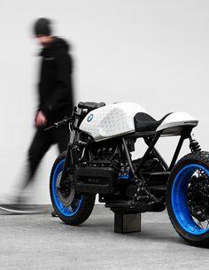 Customized BMW K100 by Philipp Wulk