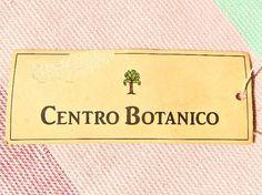 etichetta vintage Naj-Oleari Centro Botanico #najoleari - #centrobotanico