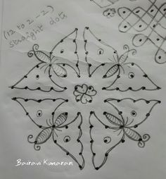 Simple Rangoli Border Designs, Indian Rangoli Designs, Rangoli Designs Latest, Rangoli Designs Flower, Free Hand Rangoli Design, Small Rangoli Design, Rangoli Designs With Dots, Rangoli With Dots, Beautiful Rangoli Designs