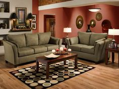 Casual Living Room Furniture With Decorative Candles Interior Design    GiesenDesign