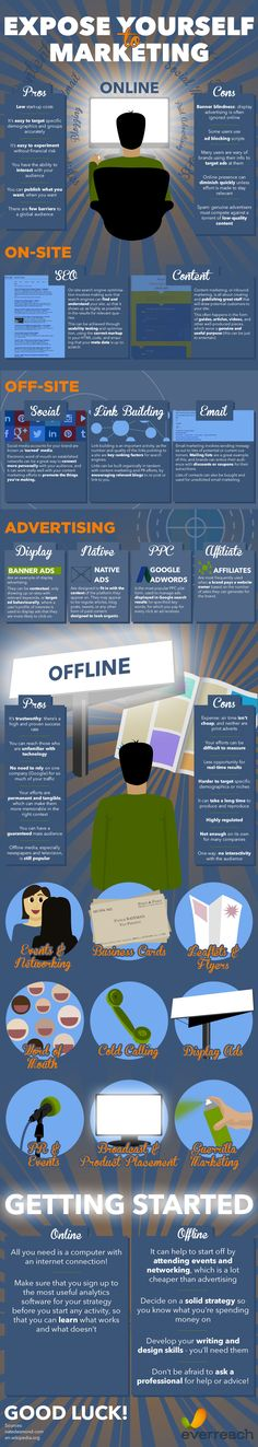 Expose Yourself to Marketing  #Infographic