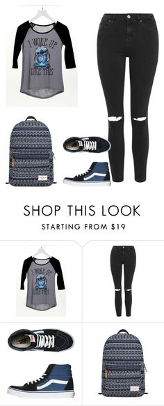 """""""Look Hannah School"""" by juh-styles-334 on Polyvore featuring beleza, dELiA*s, Topshop, Vans e Mr.ace Homme"""