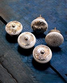 These beautiful ceramic knobs are perfect to brighten up the old furniture or customize the kitchen, cupboards, drawers and bureaus with a stylish touch. The post RUMANI CERAMIC CUPBOARD KNOBS appeared first on Infinity Decor. Furniture Knobs, Old Furniture, Furniture Projects, Cupboard Knobs, Door Knobs, Cabinet, Hand Molding, Decorative Knobs, Ceramic Knobs
