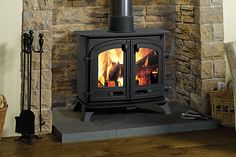 Yeoman Multi Fuel Stoves Exe Double Sided
