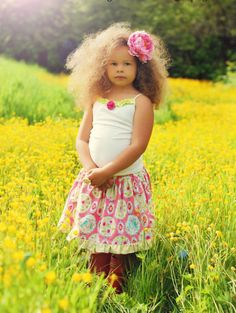 FREE - Tie Dye Diva's Easy Twirl Skirt | YouCanMakeThis.com 2T-8