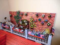 Miniaturas Yolanda: Más flores para la terraza.