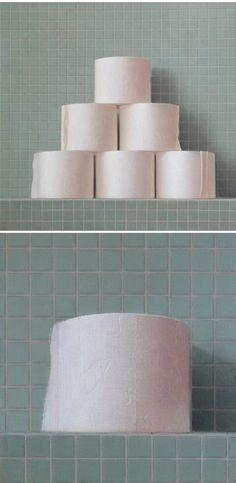paintings of toilet paper. love. the work of arnout van albada