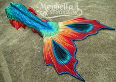 Gorgeous Merbella tail. If I ever become a Mermaid, this will be my tail!