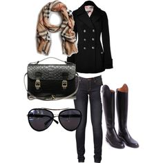 """burberry"" by madatmadi on Polyvore"