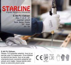 Starline PU coated glove Protective Gloves, Coat, Sewing Coat, Peacoats, Coats, Jacket